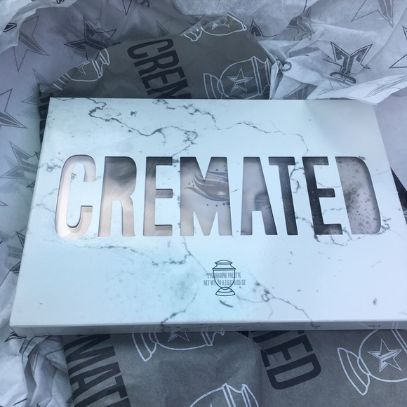 Jeffree Star Other - Jeffree Star Cremated Palette